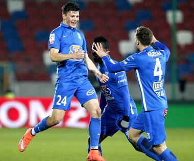 Górnik Zabrze - Lech Poznań 0-2 w meczu 25. kolejki Ekstraklasy
