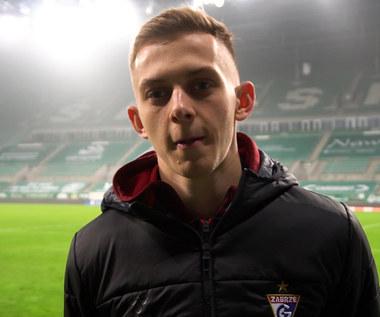 Górnik Zabrze. Michał Rostkowski po meczu ze Śląskiem Wrocław. Wideo
