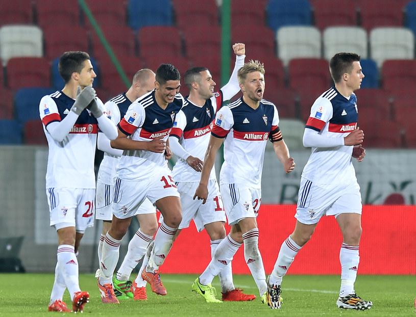 Górnik Zabrze nie jest faworytem w pojedynku z GKS Katowice /Fot. Łukasz Laskowski /Newspix