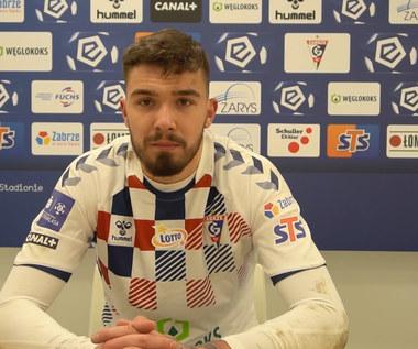 Górnik Zabrze. Przemysław Wiśniewski Wróciliśmy do gry. Wideo
