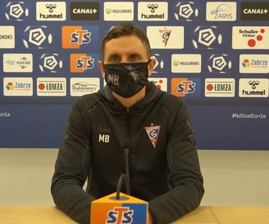 Górnik Zabrze. Trener Marcin Brosz przed meczem z Lechem Poznań. Wideo