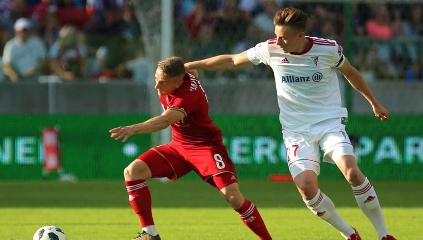 Górnik Zabrze - Wisła Kraków 2-0 w meczu 37. kolejki Ekstraklasy