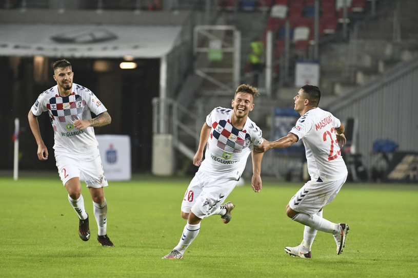 Górnik Zabrze /Michal Dubiel/REPORTER /East News