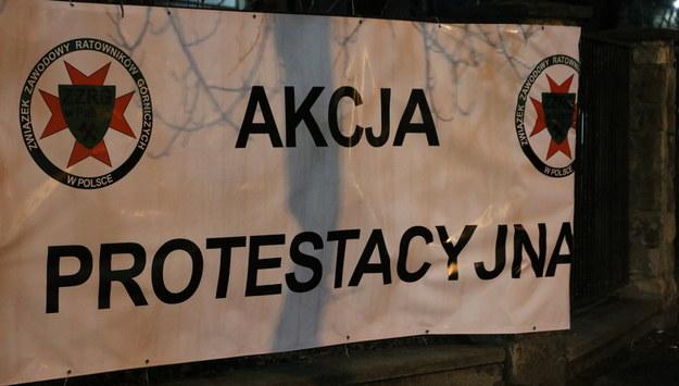 Górników niepokoi również trudna sytuacja całej branży. /Józef Polewka /RMF FM