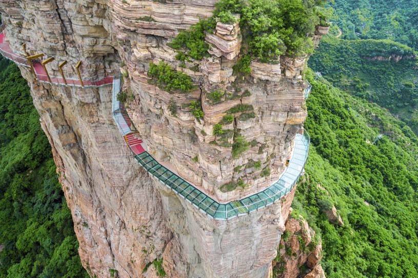 Górski chodnik East Taihang Glasswalk będzie wkrótce niedostępny dla turystów /East News
