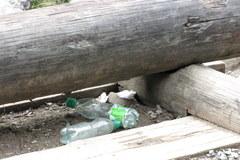 Góry śmieci w Tatrach
