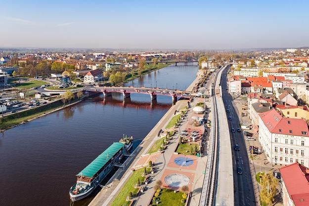 Gorzów Wielkopolski - część miasta nad Wartą /©123RF/PICSEL