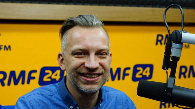 Gość Dania do Myślenia  Igor Rotberg /Michał Dukaczewski /RMF FM
