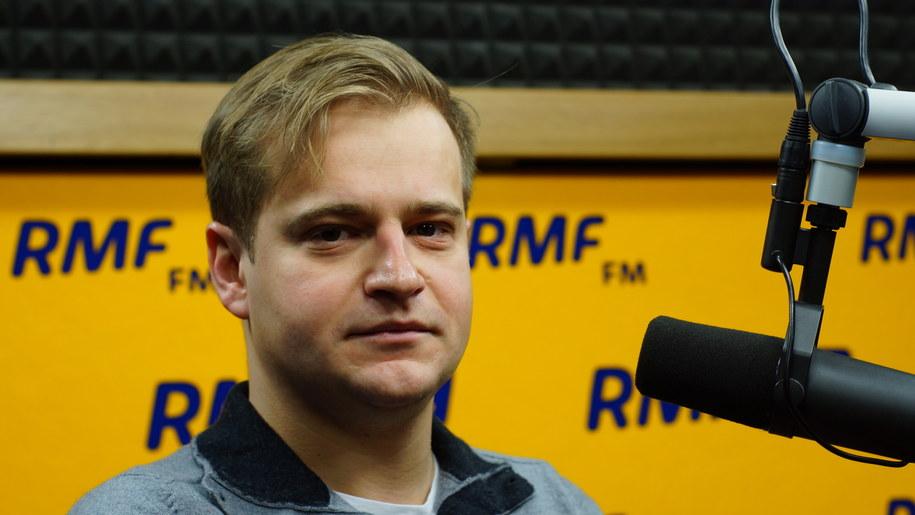 Gość Dania do Myślenia w RMF Classic Igor Lyubashenko /Michał Dukaczewski /RMF FM