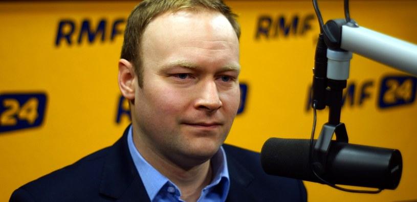 Gość Kontrwywiadu RMF FM Marcin Mastalerek /Michał Dukaczewski /RMF FM