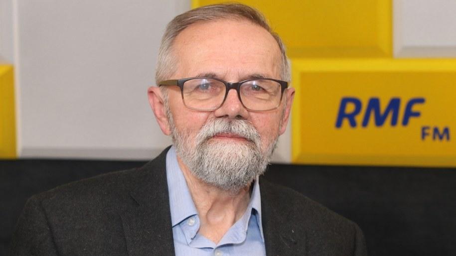 Gość Popołudniowej rozmowy RMF FM - prof. Ryszard Bugaj /Jakub Rutka /RMF FM