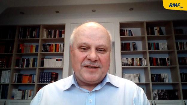 Gość Roberta Mazurka, poseł Lewicy Marek Dyduch /Piotr Szydłowski /RMF FM