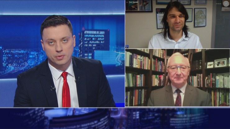"""""""Gość wydarzeń"""" na antenie Polsat News /Polsat News"""