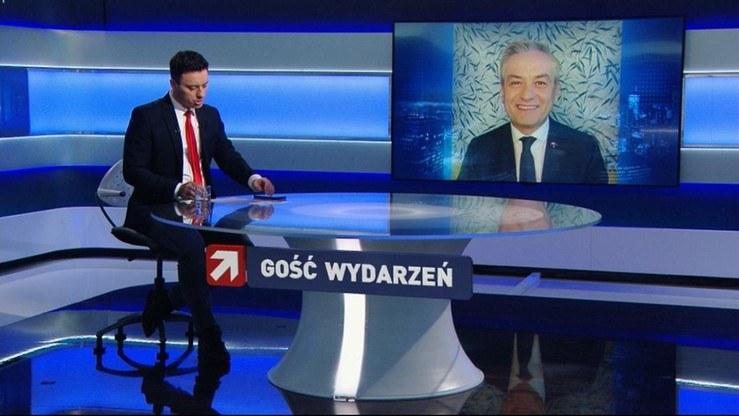Gość Wydarzeń /Polsat News /Polsat
