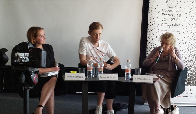 Goście Copernicus Festival rozważali na temat przypadku w sztuce /Ewa Majewska /INTERIA.PL