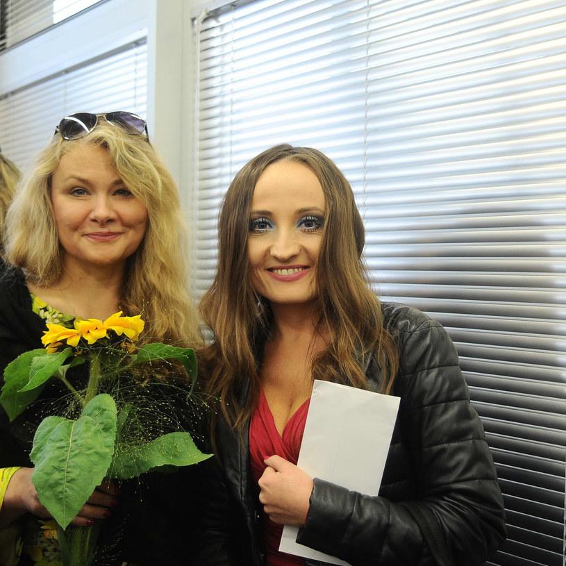 Goście: Katarzyna Piekarska i Justyna Dobrosz-Oracz /- /East News
