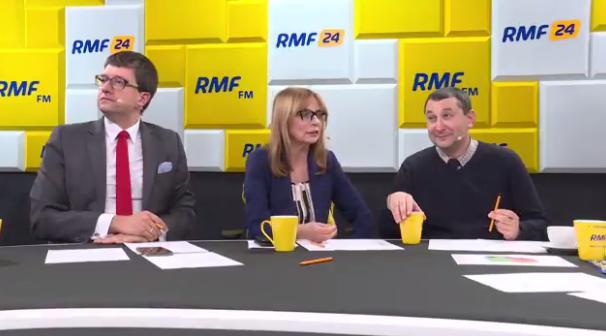 Goście Marcina Zaborskiego: Marcin Roszkowski z SGH, Ewa Marciniak z UW i Mikołaj Cześnik z SWPS /RMF