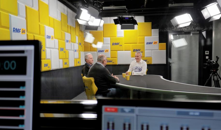 Goście Porannej rozmowy w RMF FM /Michał Dukaczewski /RMF FM