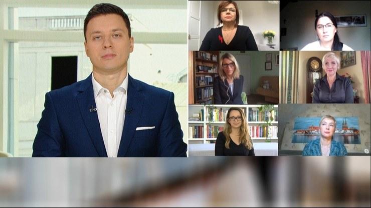 """Goście """"Śniadania w Polsat News"""" /Polsat News"""