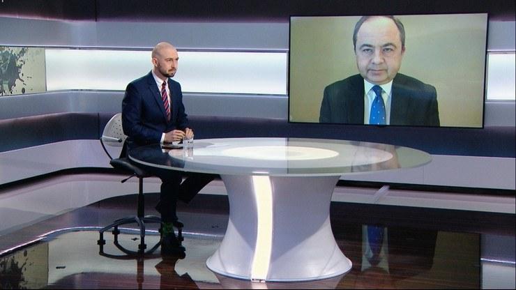 """Gościem """"Graffiti"""" był Konrad Szymański, minister do spraw Unii Europejskiej /Polsat News"""