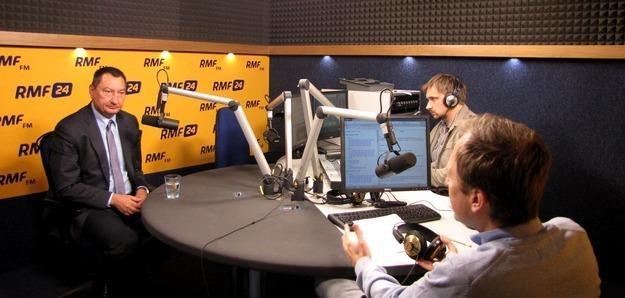 Gościem Kontrwywiadu RMF FM był ekonomista, Bogusław Grabowski, fot. Olga Wasilewska /RMF