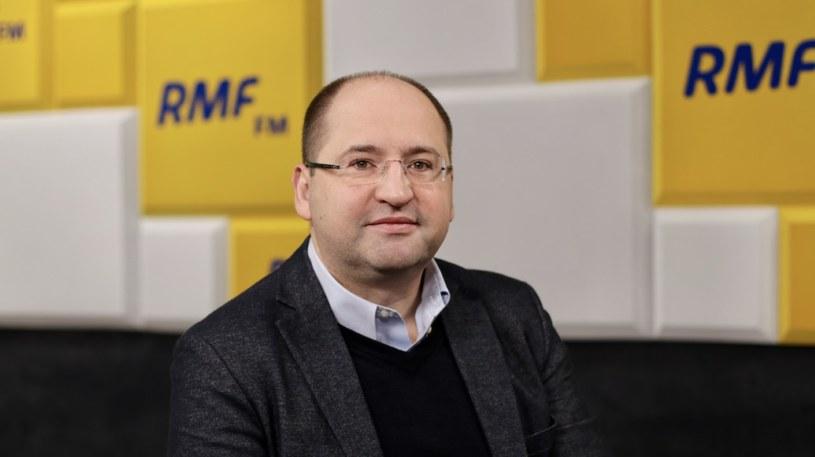 Gościem Krzysztofa Ziemca był Adam Bielan /RMF FM