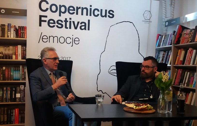 """Gościem piątkowego """"Śniadania Mistrzów"""" był prof. Andrzej Chwalba /Ewelina Karpińska-Morek /INTERIA.PL"""