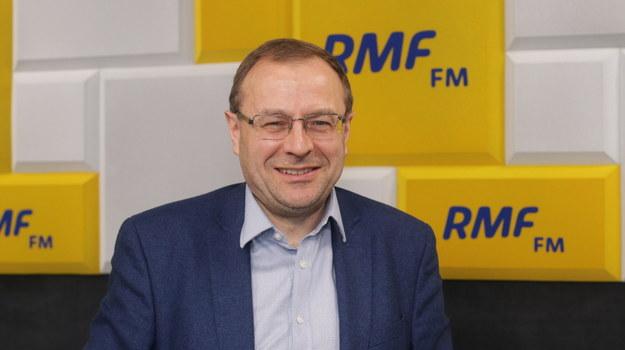 Gościem Popołudniowej rozmowy w RMF FM będzie prof. Antoni Dudek. Z politologiem z Uniwersytetu Kardynała Wyszyńskiego /Piotr Szydłowski /RMF FM