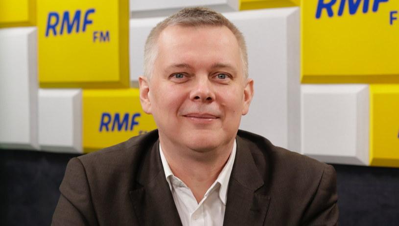 Gościem Porannej rozmowy w RMF FM był Tomasz Siemoniak /Karolina Bereza /RMF FM