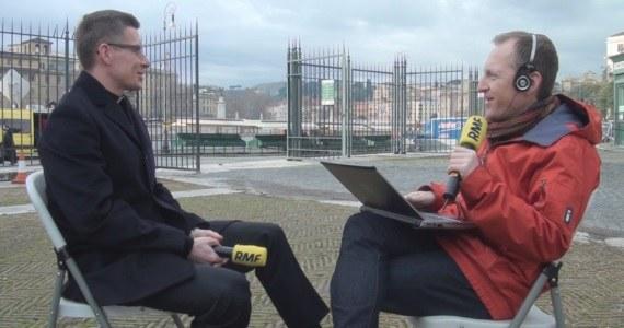 Gościem w Kontrwywiadzie RMF FM był ks. Piotr Bajor /Jacek Skóra /RMF FM