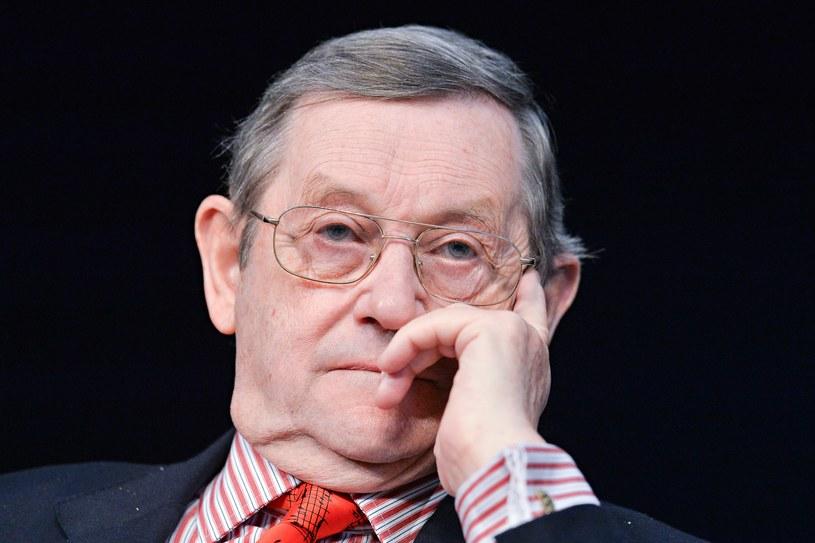 """Gościem """"Wielkich Pytań w Krakowie"""" będzie światowej sławy historyk profesor Norman Davies / Łukasz Dejnarowicz  /FORUM"""