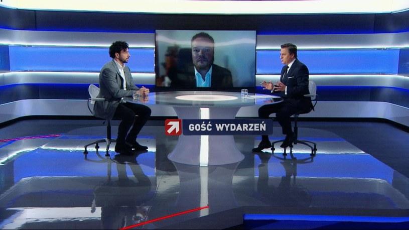 Gośćmi Bogdana Rymanowskiego byli: lekarz Bartosz Fiałek i biolog medyczny Piotr Witczak /Polsat News /Polsat News