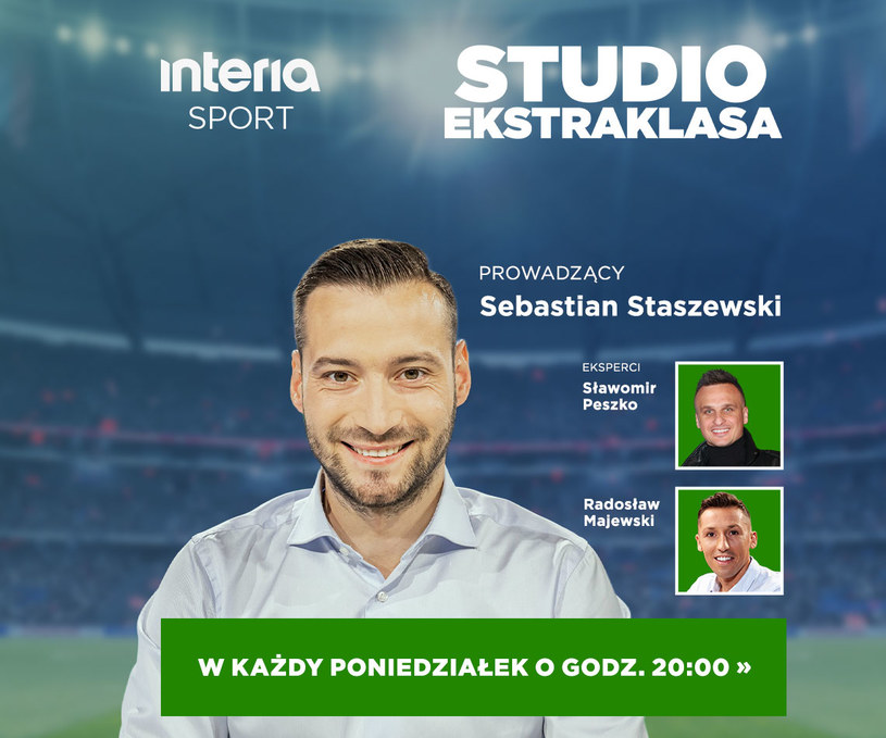 """Gośćmi drugiego odcinka """"Studia Ekstraklasy"""" będą Sławomir Peszko i Radosław Majewski /"""