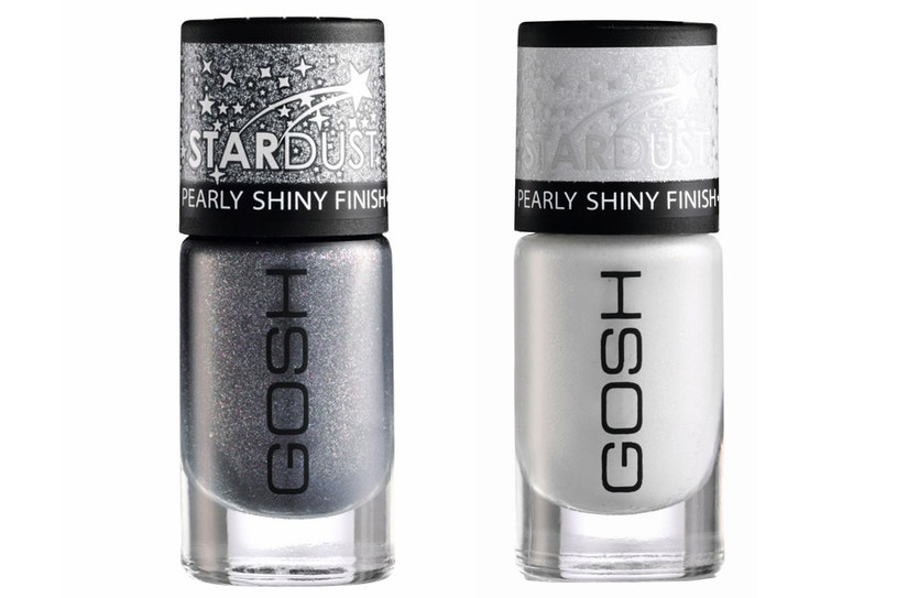 GOSH lakiery do paznokci STARDUST /materiały prasowe