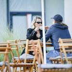 Gosia Andrzejewicz wyskoczyła z ukochanym na kawę. Rzadki widok!