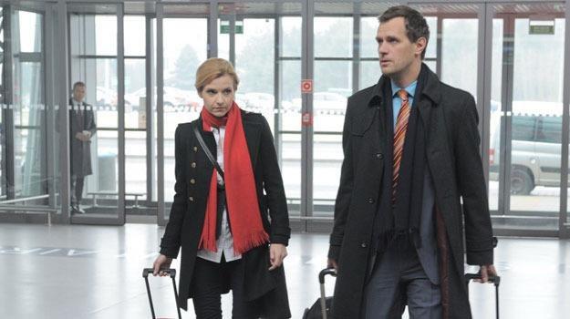 Gosia (Joanna Koroniewska) okłamie męża i wyjedzie z... byłym mężem! /Agencja W. Impact