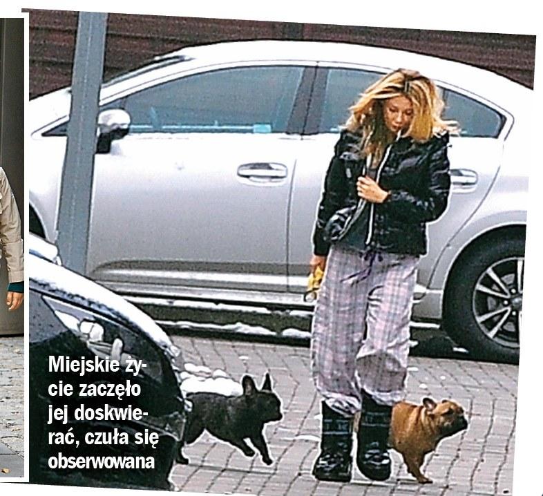 Gosia z psami /- /Życie na gorąco