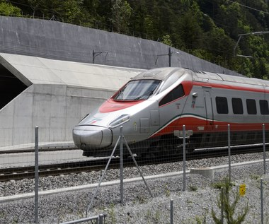 Gotthard Base - najdłuższy tunel kolejowy świata