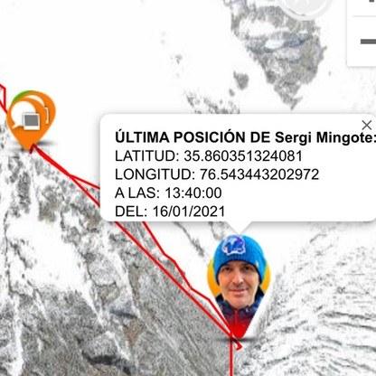 GPS Hiszpana wskazuje, że spadł z dużej wysokości /Facebook /