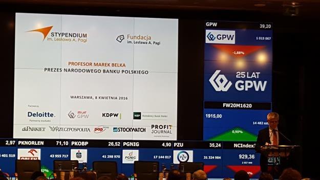 GPW: Potrzebna jest zmiana modelu biznesowego /INTERIA.PL
