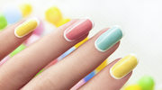 Gra kolorów na paznokciach