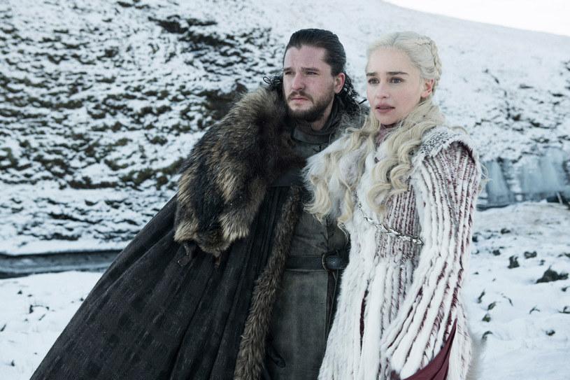"""""""Gra o tron"""": Jon Snow, Daenerys /HBO"""