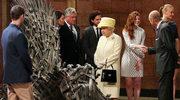 """""""Gra o tron"""": Królowa Elżbieta odwiedziła plan serialu"""