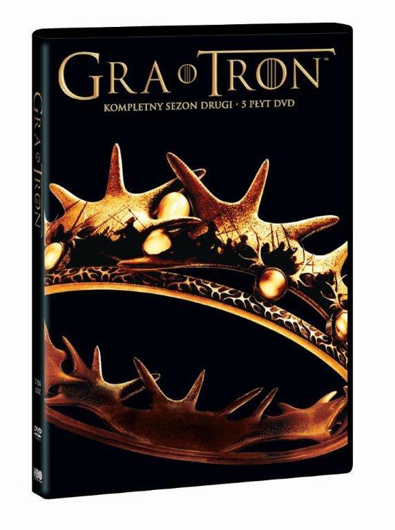 """""""Gra o tron"""" na DVD /materiały prasowe"""