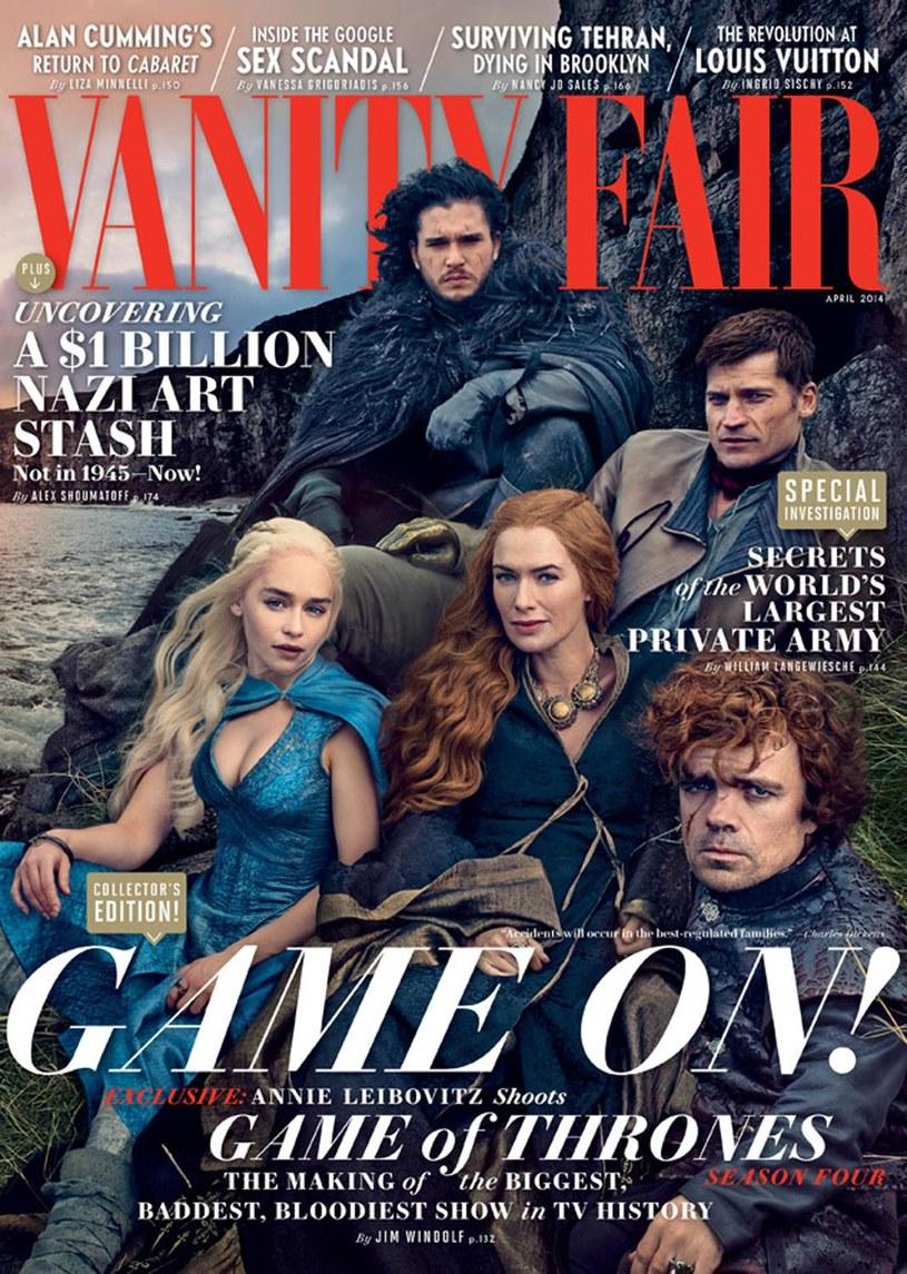 """""""Gra o tron"""" na okładce """"Vanity Fair"""" /materiały prasowe"""