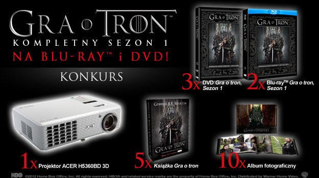 """""""Gra o tron"""" zadebiutowała na Blu-ray i DVD na początku marca, dzięki  Galapagos Films /materiały dystrybutora"""