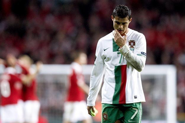 Gra w reprezentacji Portugalii staje się przekleństwem Cristiano Ronaldo /PAP/EPA