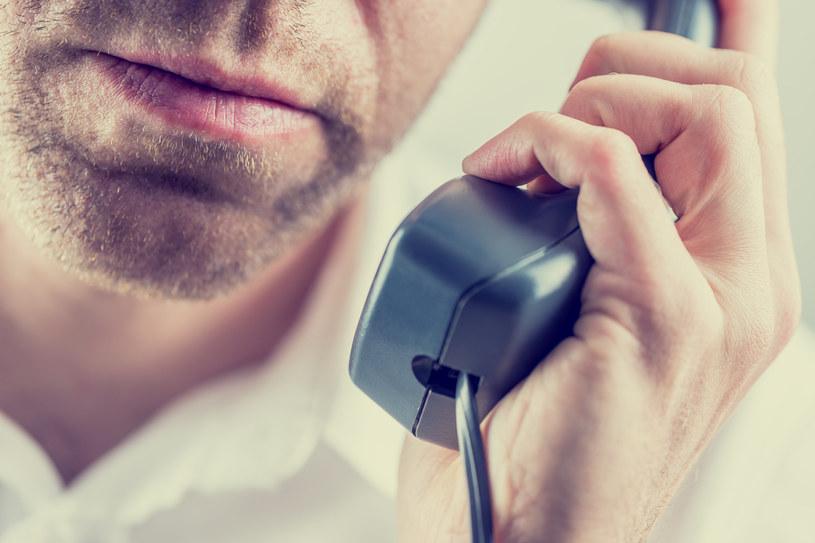 Grabiński odbył intrygującą rozmowę telefoniczną (zdj. ilustracyjne) /123RF/PICSEL