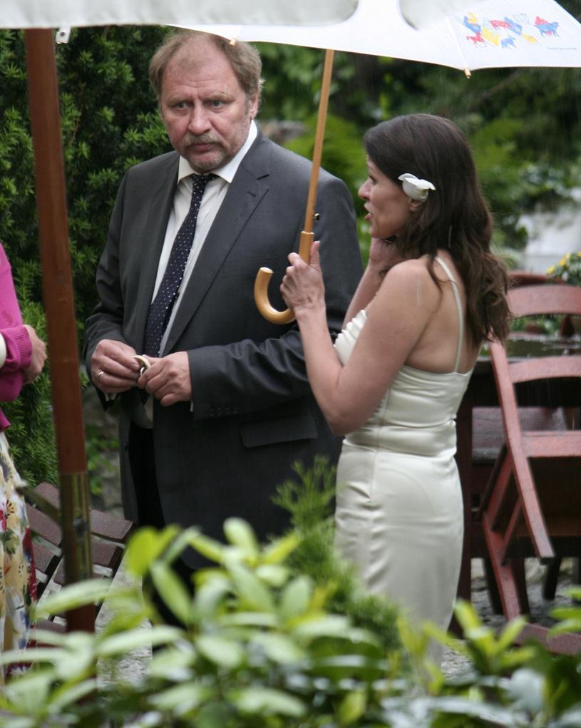 Grabowski z byłą żoną /Piotr Wygoda /East News