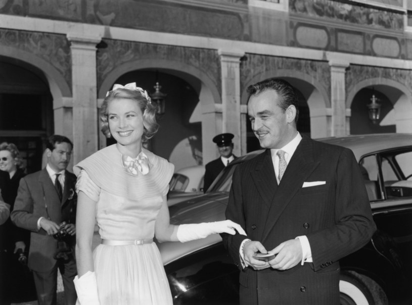 Grace Kelly i książę Monako Rainier III /Getty Images
